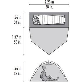 MSR Hubba Tour 1 tent groen